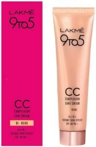 Lakmé 9 to 5 Complexion Care Face Cream   Beige Foundation Beige AllTrickz.jpg