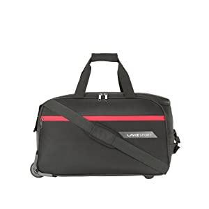 Lavie Sport Lino M Large Size 57 cms Wheel Duffle Bag for Travel  AllTrickz.jpg