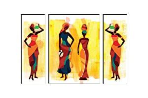 SAF UV Textured Modern Art Print Framed Painting  Synthetic AllTrickz.jpg