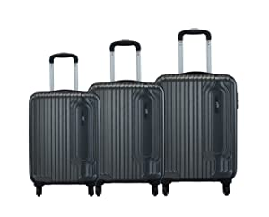 VIP Trace Graphite Polycarbonate Hardsided Luggage Set of 3 Small AllTrickz.jpg